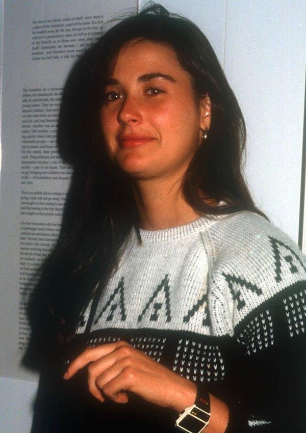 Деми Мур в 1987 году