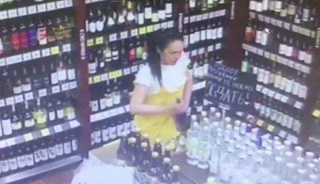 """""""Смекалистая"""" воровка"""