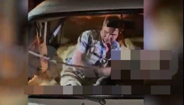 В Екатеринбурге пьяный водитель пытался отбиться от полицейских змеёй
