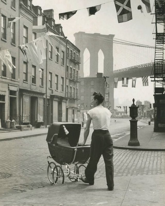 Подборка черно-белых фотографий прошлого века