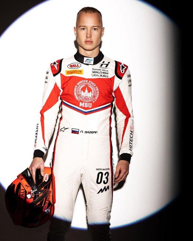 Никита Мазепин, гонщик