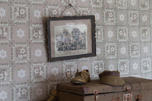 Заброшенный дом, который когда то принадлежал полковнику, участвовавшему в Гражданской войне в США