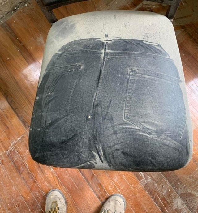 Если посидеть на самом пыльном стуле