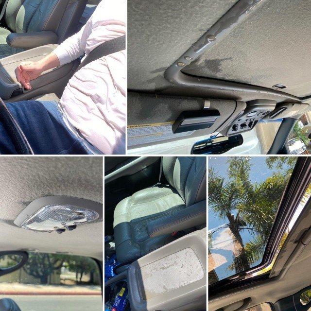 протекает потолок в машине
