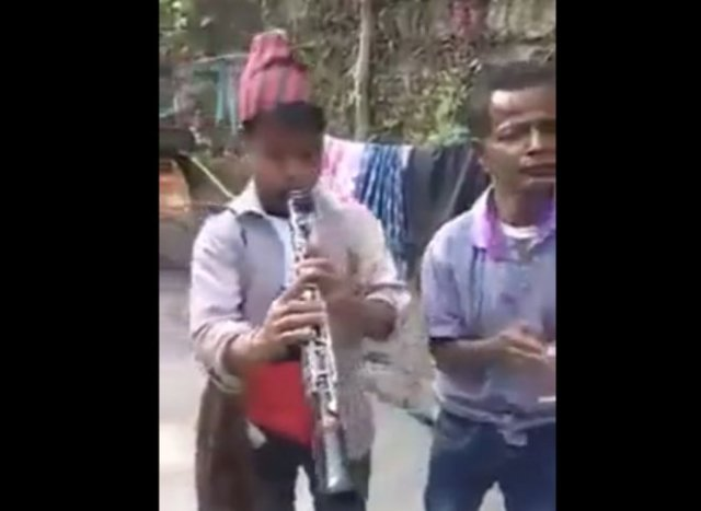 """""""Мастерская"""" игра на кларнете"""