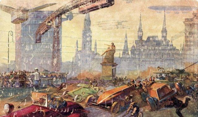 Как будет выглядеть Москва в 2259 году