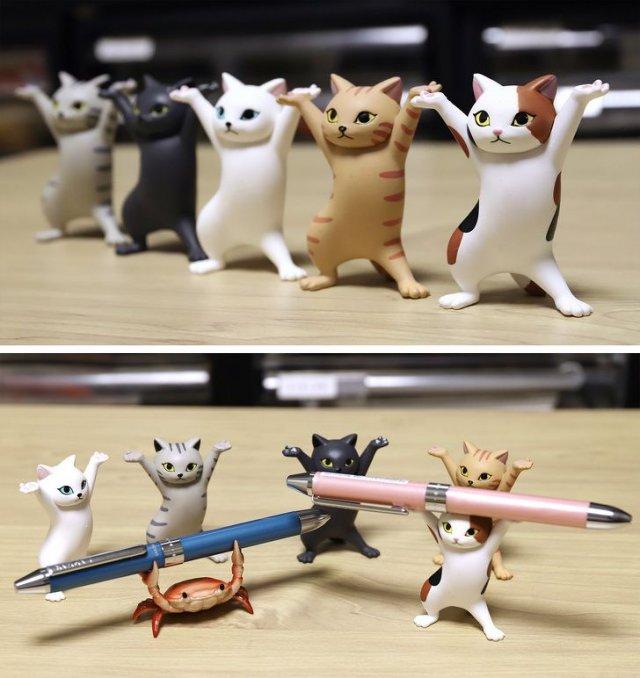 В Японии все без ума от котиков
