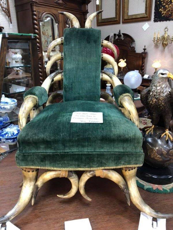 Неплохое кресло для варвара