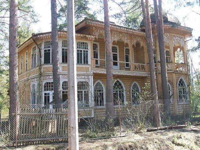 Дача Юхневича в Комарово