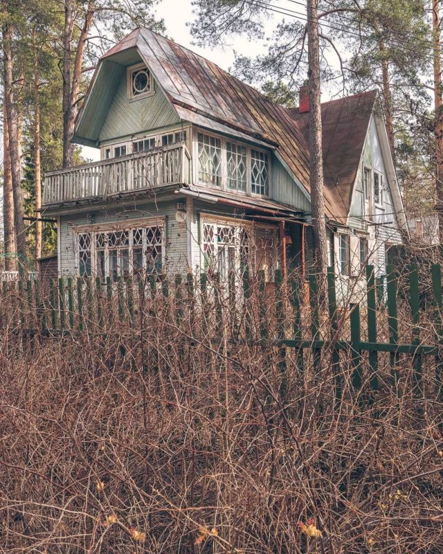Дача Шляпужникова в Комарово