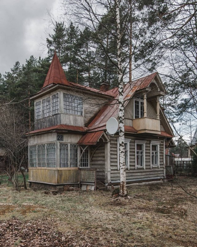Дом в Вырице