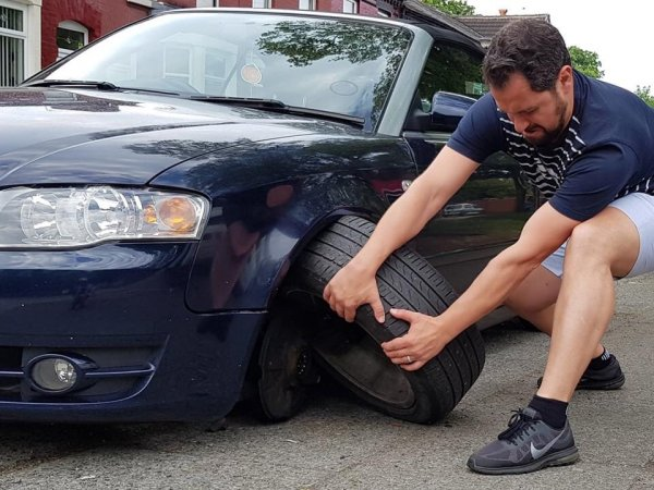 Больше заборов его нервируют только нарушители парковки