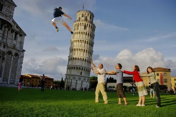 Теперь понятно, почему пизанская башня под наклоном