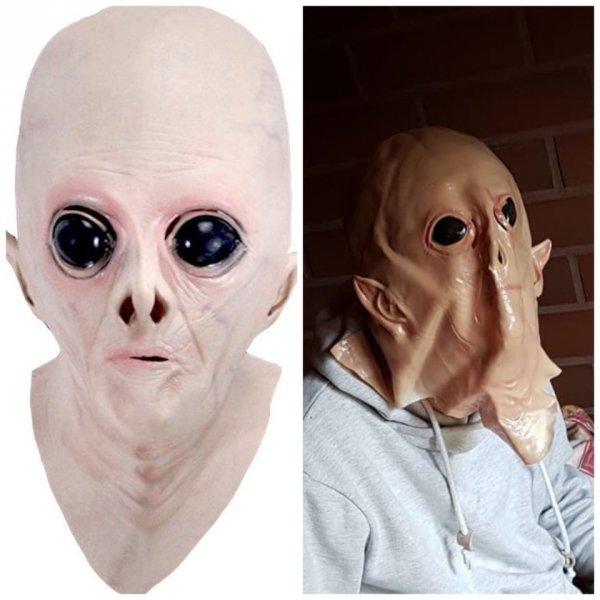 Заказал маску инопланетянина