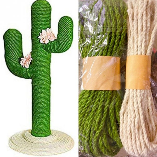 Когтеточка в форме кактуса