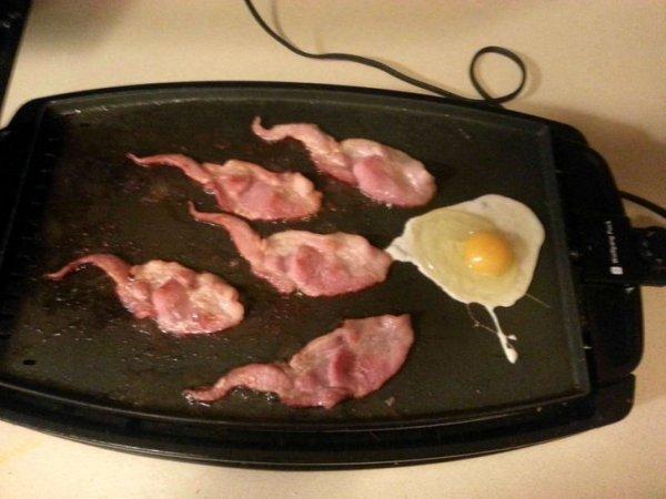 Даже завтрак намекает, что часики-то тикают.