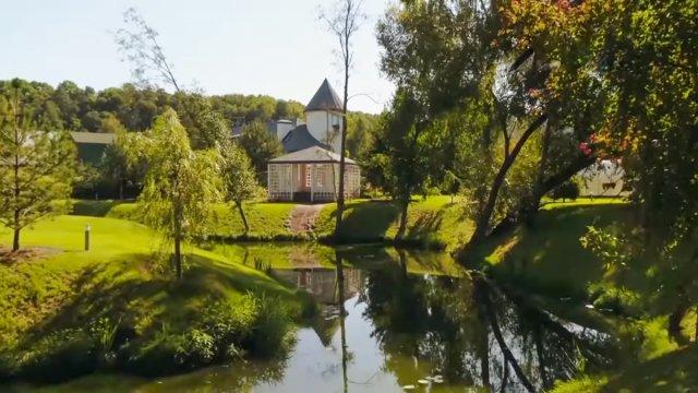 Дом Яны Рудковской и Евгения Плющенко на Рублевке