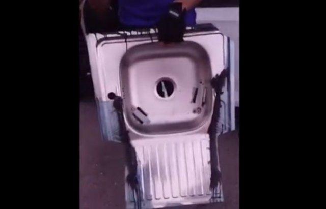 Самодельная противоугонная система для автомобиля из раковины