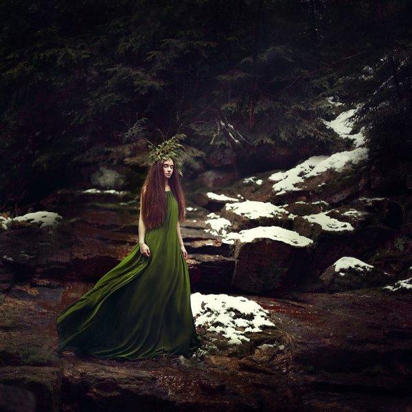 Завораживающие и мистические снимки от немецкого фотографа Сина Домке