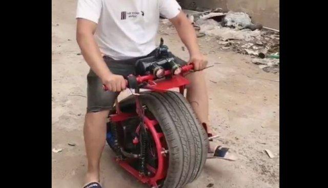 Необычный транспорт, сделанный своими руками