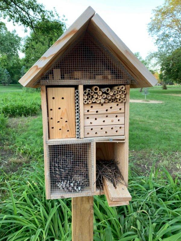 Дом для пчёл и жуков