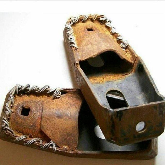 Необычные и брутальные самоделки из металла