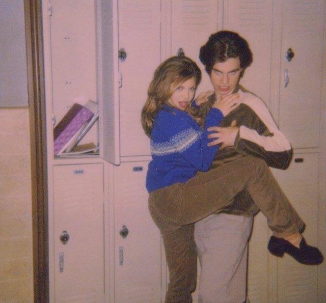 Архивные фотографии знаменитостей 80-90-х годов
