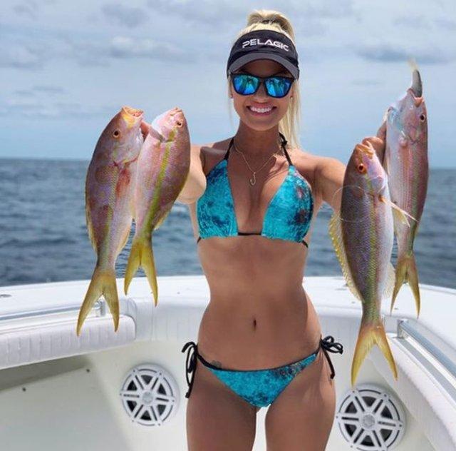 Мишель Дальтон: девушка, которая на рыбалке переплюнет любого мужчину