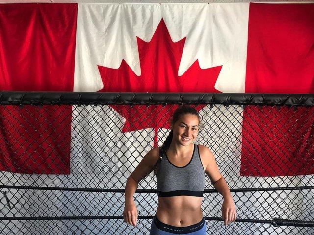 "Диана Белбита - боец UFC по прозвищу ""принцесса-воин"""