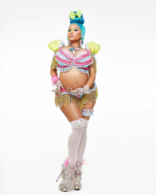 Ники Минаж в первый раз станет мамой