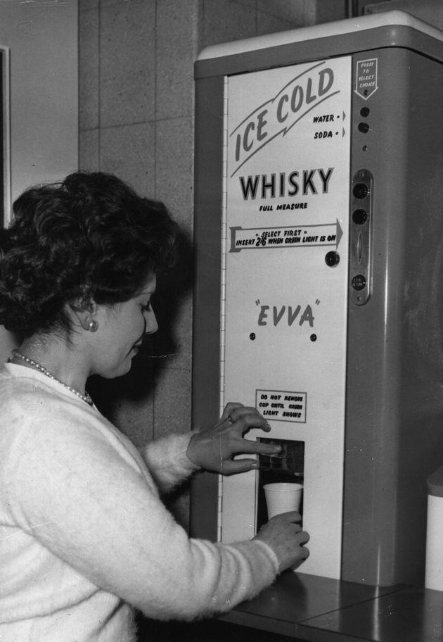 Автоматы по продаже чего угодно из прошлого