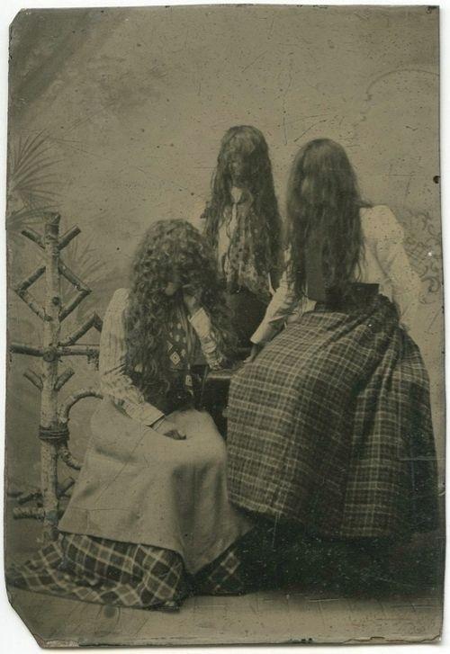 Жуткие фотографии из прошлого