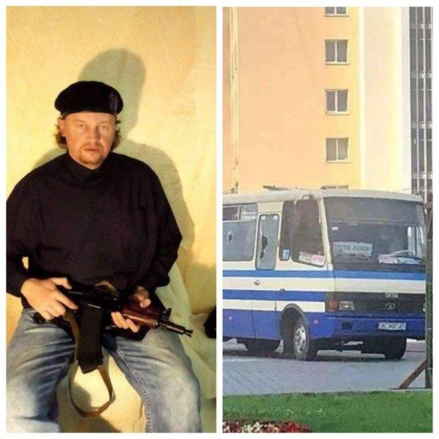 В Луцке вооруженный мужчина захватил пассажирский автобус и требует, чтобы чиновники признали себя т