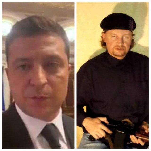 Максим Кривош — террорист из Луцка — был задержан, а Владимир Зеленский выполнил его требование