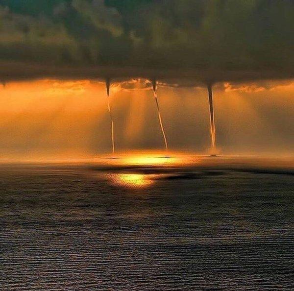 Ураганное трио на побережье Турции