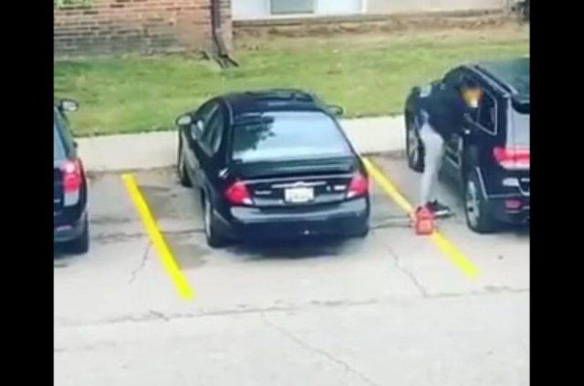 Не рой другому яму: эпичный фейл при поджоге автомобиля