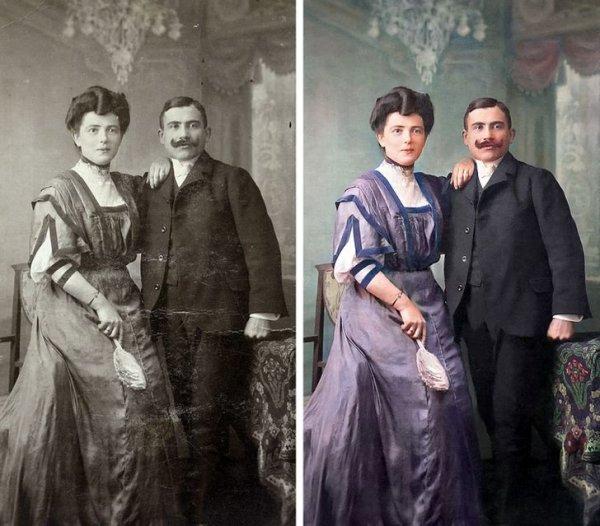 Мои прапрародители на балу в будапештском отеле