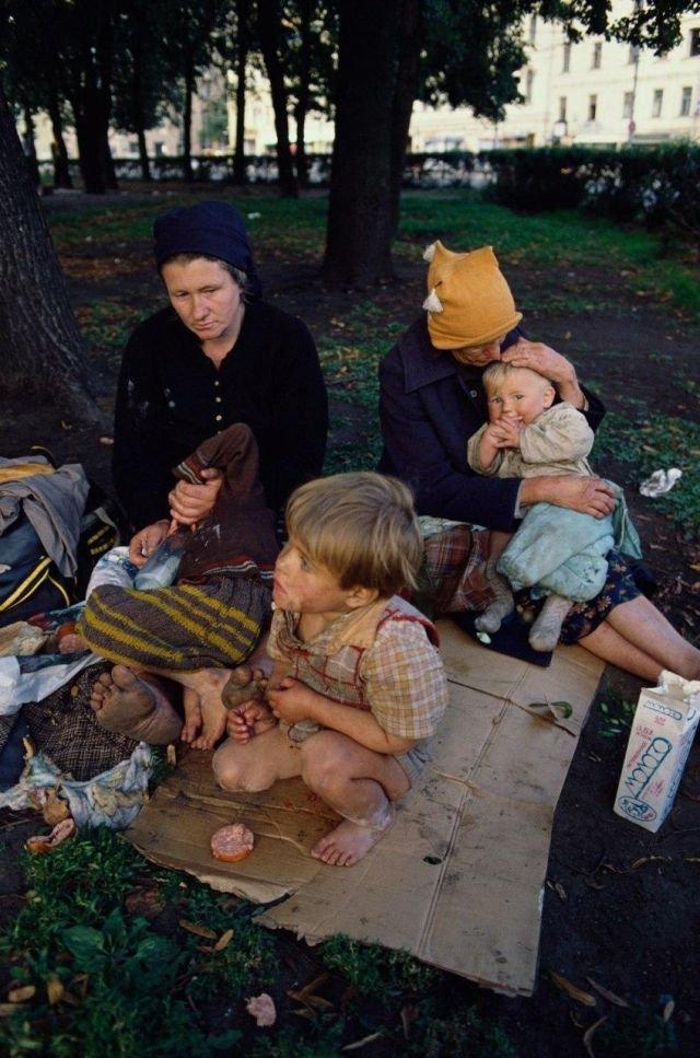 Бездомная семья из Смоленска