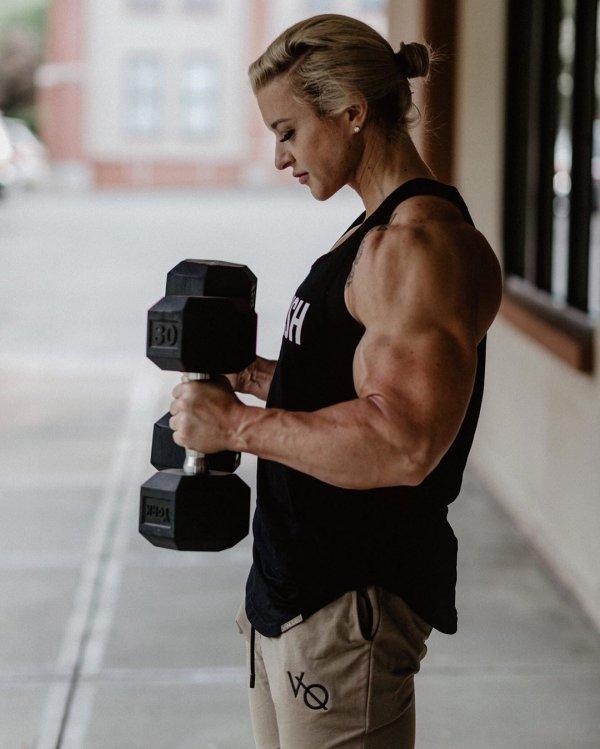 Тесса Бойа - женщина-терминатор из армии США