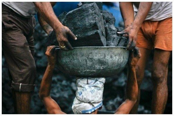 Добыча угля, Индонезния