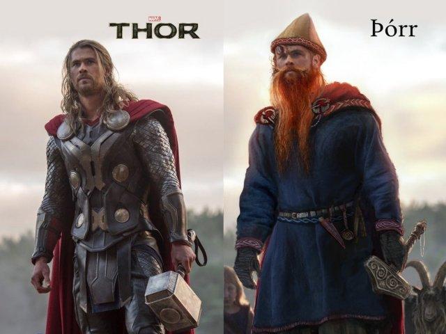 Тор из киновселенной Marvel