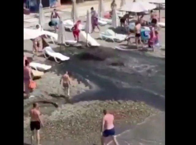 """""""Шикарные"""" сочинские пляжи"""
