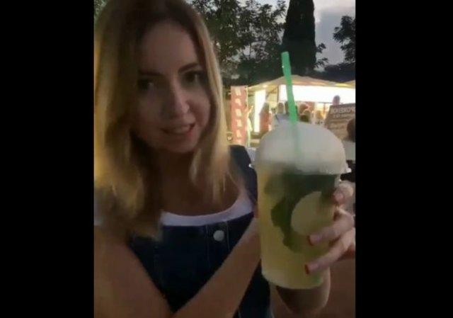 Екатерина Диденко рассказала об опасности сухого льда и о том, как пить коктейли с ним