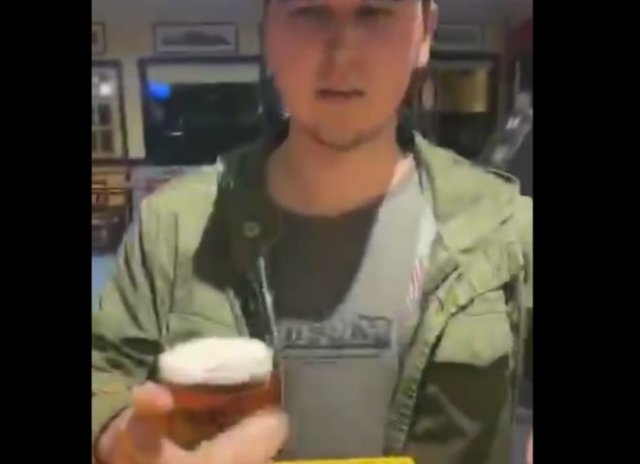 Очень хороший сервис от бармена