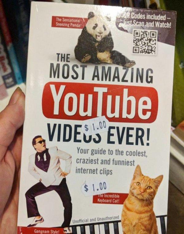 Самые удивительные видеоролики YouTube