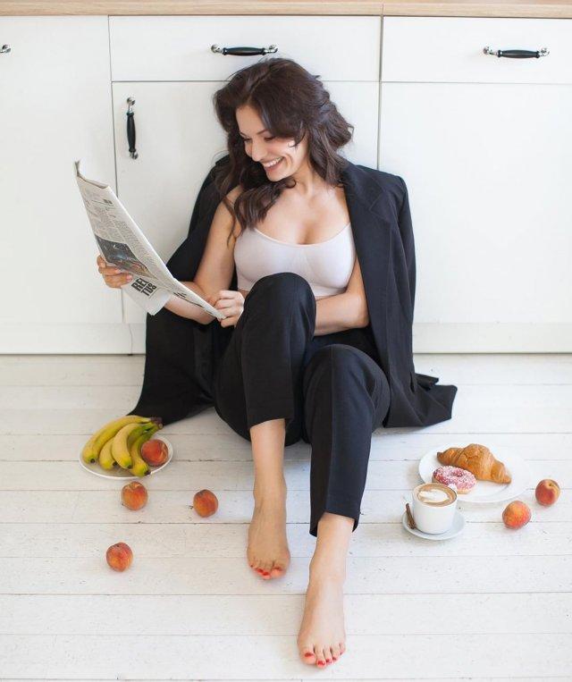 Мария Рыбкова - новая ведущая утреннего шоу, которая сменила Елену Ландер