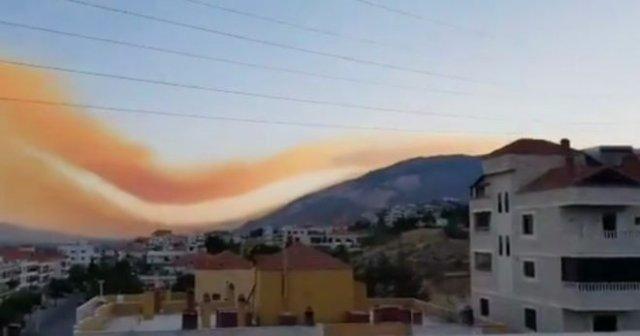 Над Бейрутом после взрыва повисло токсичное облако