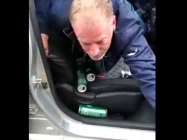 На вызов приехал пьяный таксист