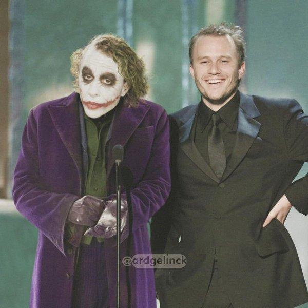 Хит Леджер и Джокер