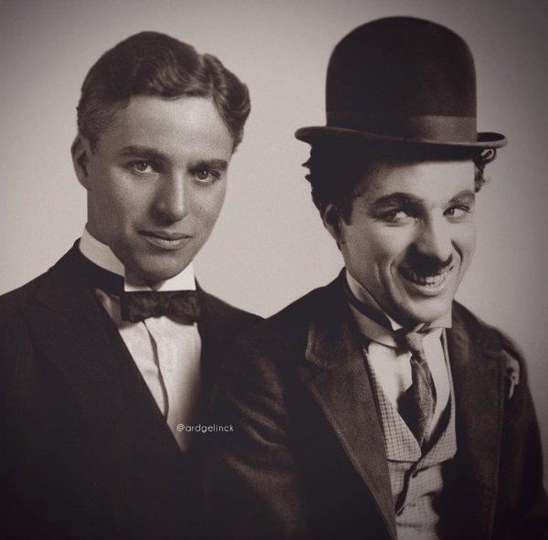 Чарли Чаплин и Бродяга